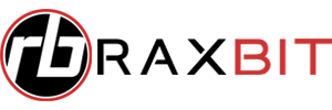 Raxbit typeface logo